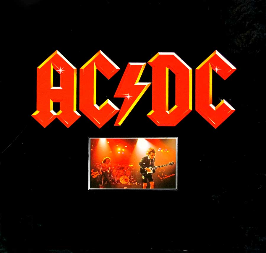 Album Front Cover Photo of AC/DC - 3 RECORD SET ATLANTIC 60149