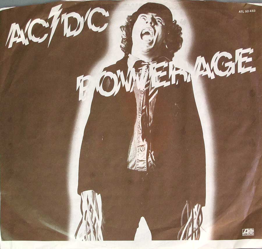 Photo of the custom inner sleeve #2 AC/DC - Powerage 3 RECORD SET