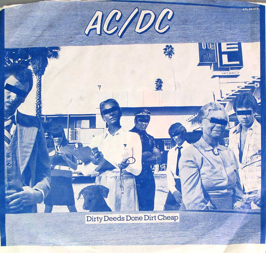 Photo of the custom inner sleeve #3 AC/DC - Dirty Deeds Done Cheap 3 RECORD SET
