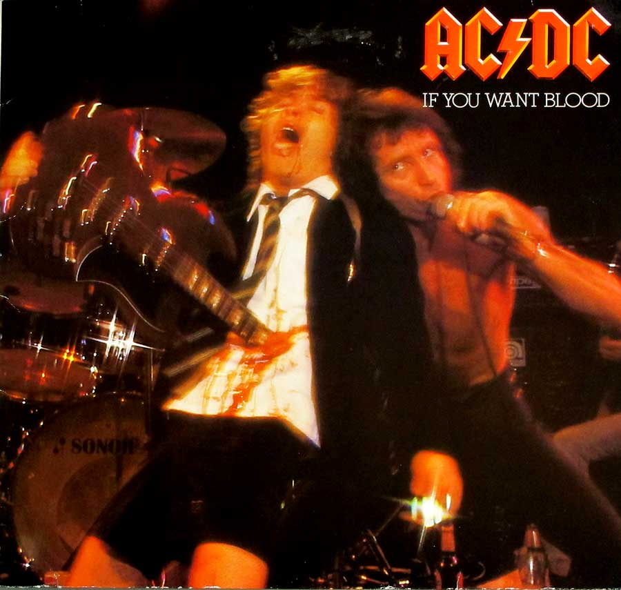 Album Front Cover Photo of AC/DC - If You Want Blood You've Got It