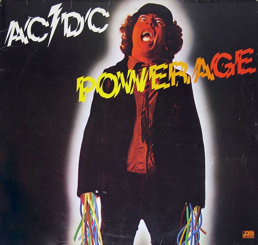 Front Cover Photo Of AC/DC - POWERAGE ( Australian Rock )