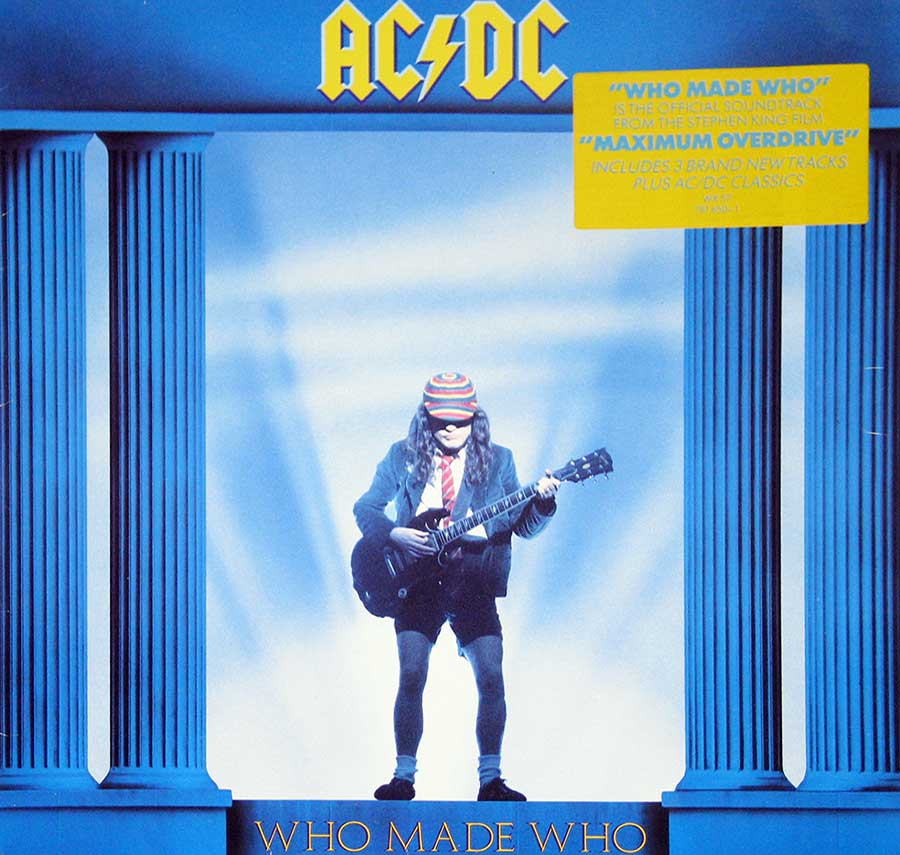 Album Front Cover Photo of AC/DC - Who Made Who ( European Release )