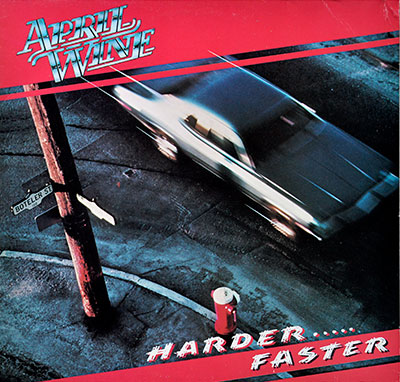 Thumbnail Of  APRIL WINE – Harder.....Faster album front cover