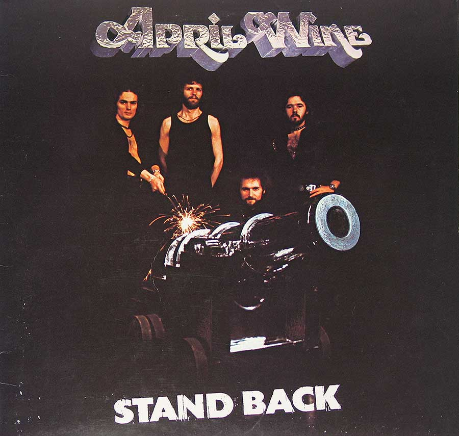 "Front Cover Photo of ""Stand Back"" Album"