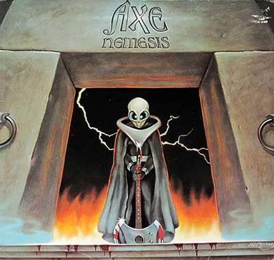 "Thumbnail Of  AXE - Nemesis ( Germany, 12"" LP ) album front cover"