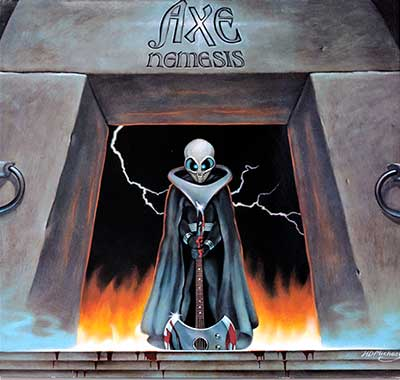Thumbnail Of  AXE - Nemesis ( 1983, Netherlands ) album front cover