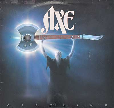 Picture Of  AXE - Offering ( 1982, UK ) album front cover