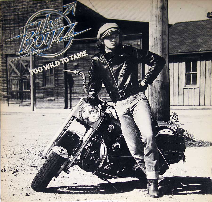 """Too Wild To Tame"" by THE BOYZZ on Cleveland Records 12"" VINYL LP ALBUM album front cover"