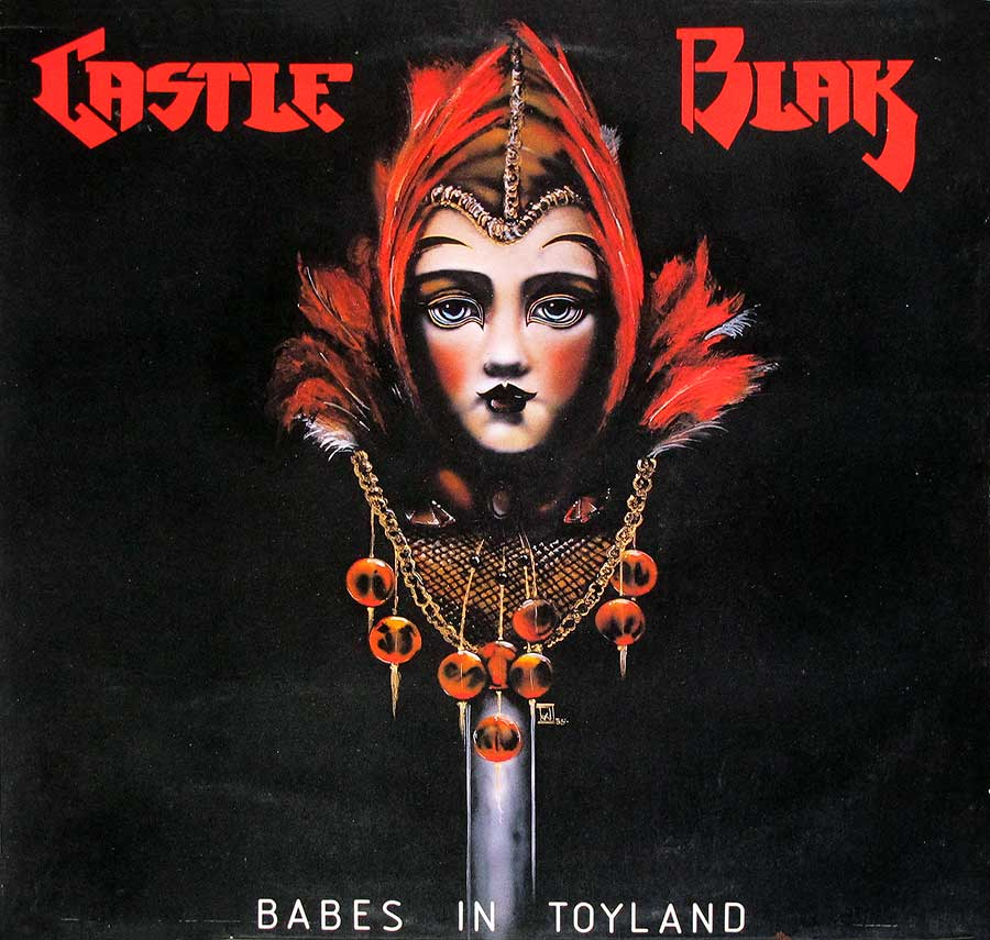 "CASTLE BLAK - Babes In Toyland 12"" LP VINYL ALBUM  front cover https://vinyl-records.nl"