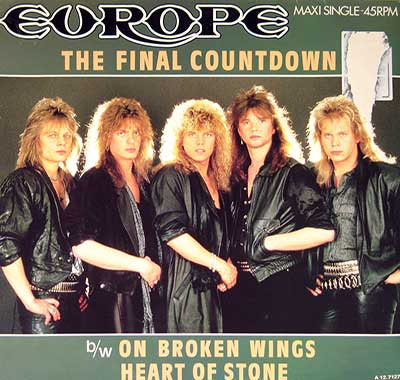 "Thumbnail of EUROPE - Final Countdown Extended Version 7"" Single Picture Sleeve album front cover"