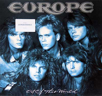 "Thumbnail of EUROPE - Out of this World 12"" Vinyl LP Album album front cover"