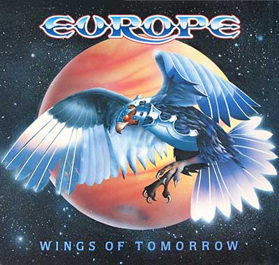 "Thumbnail of EUROPE - Wings of Tomorrow Hot Records 12"" LP Vinyl Album album front cover"