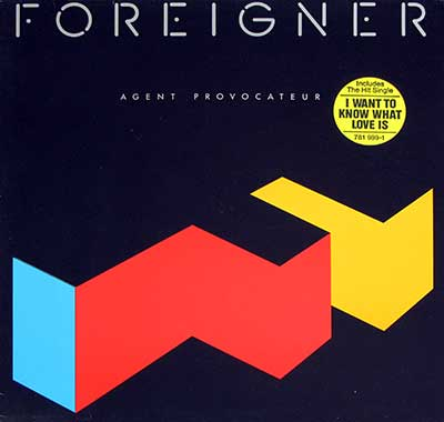 Thumbnail of FOREIGNER - Agent Provocateur album front cover