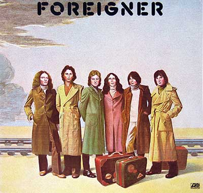 Thumbnail of FOREIGNER - Self-titled album front cover