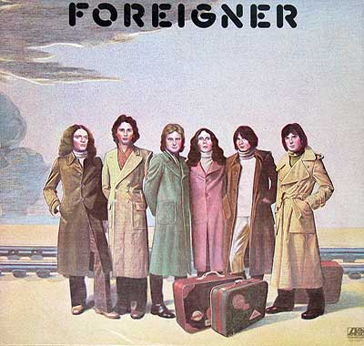 Thumbnail of FOREIGNER - Self-titled ( USA Release ) album front cover