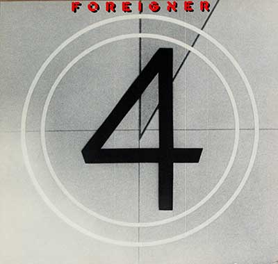 Thumbnail of FOREIGNER - 4 ( Four )  album front cover