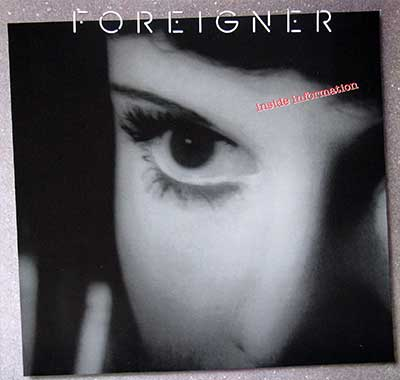 Thumbnail of FOREIGNER - Inside Information album front cover