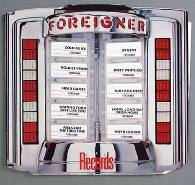 Thumbnail of FOREIGNER - Records album front cover