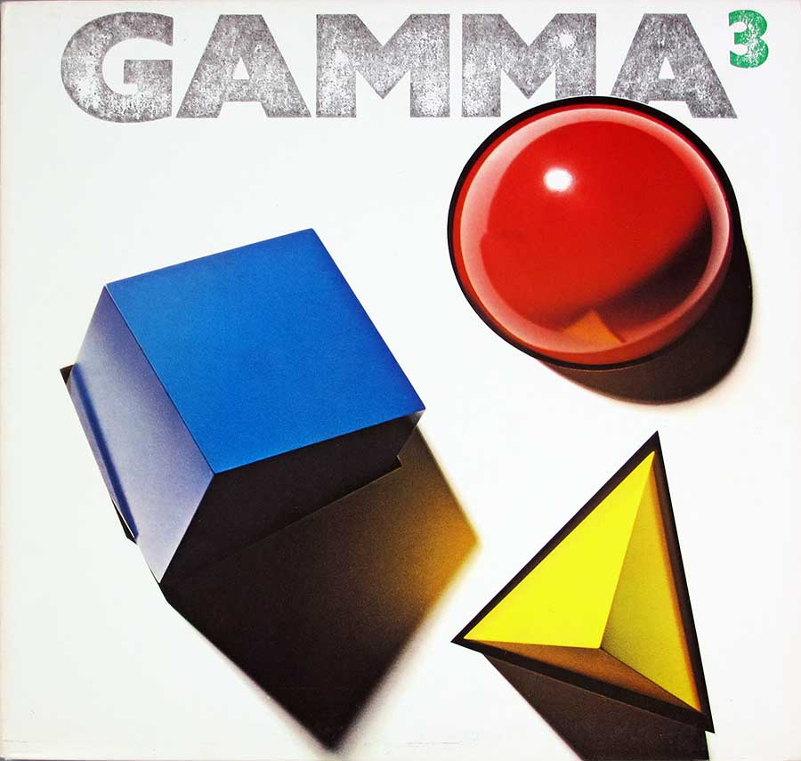 "GAMMA 3 With Ronnie Montrose Elektra USA Release 12"" LP VINYL ALBUM front cover https://vinyl-records.nl"