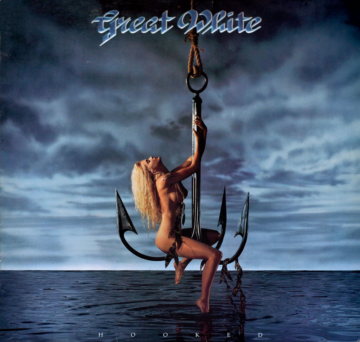 Album Front Cover Photo of GREAT WHITE - Hooked