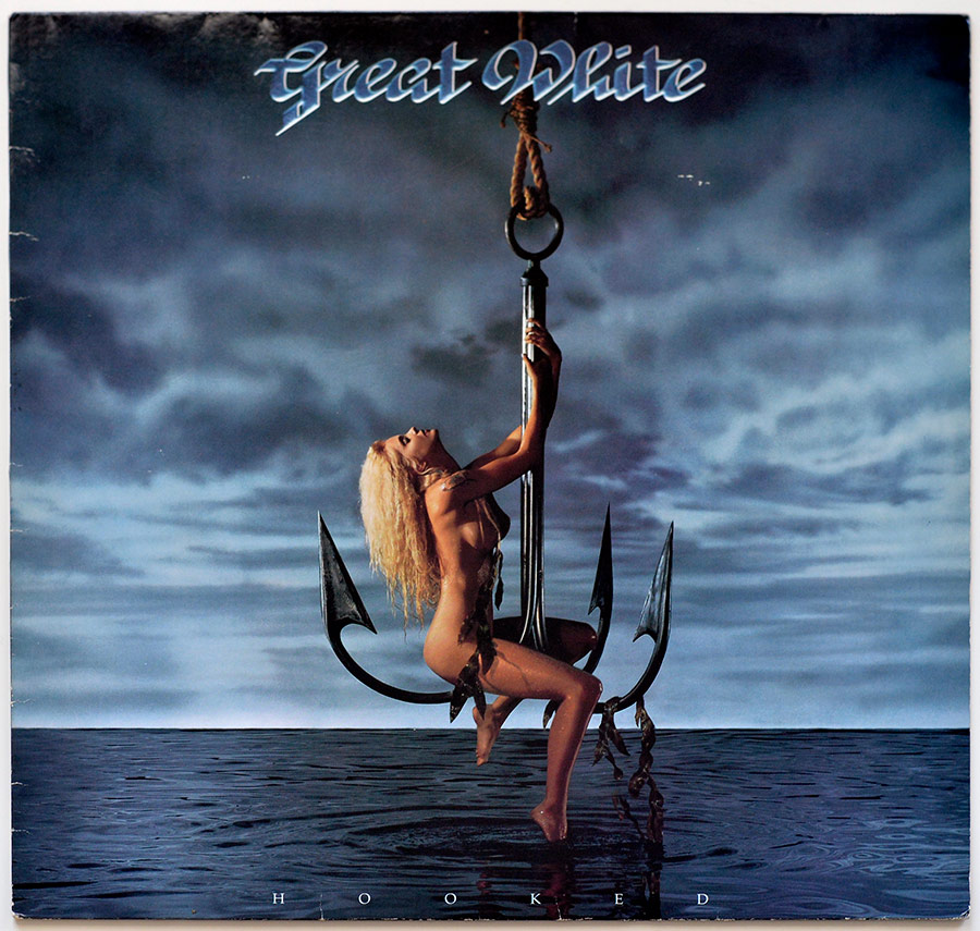 Front Cover Photo Of GREAT WHITE - Hooked