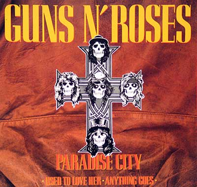 Thumbnail of GUNS N' ROSES - Paradise City album front cover