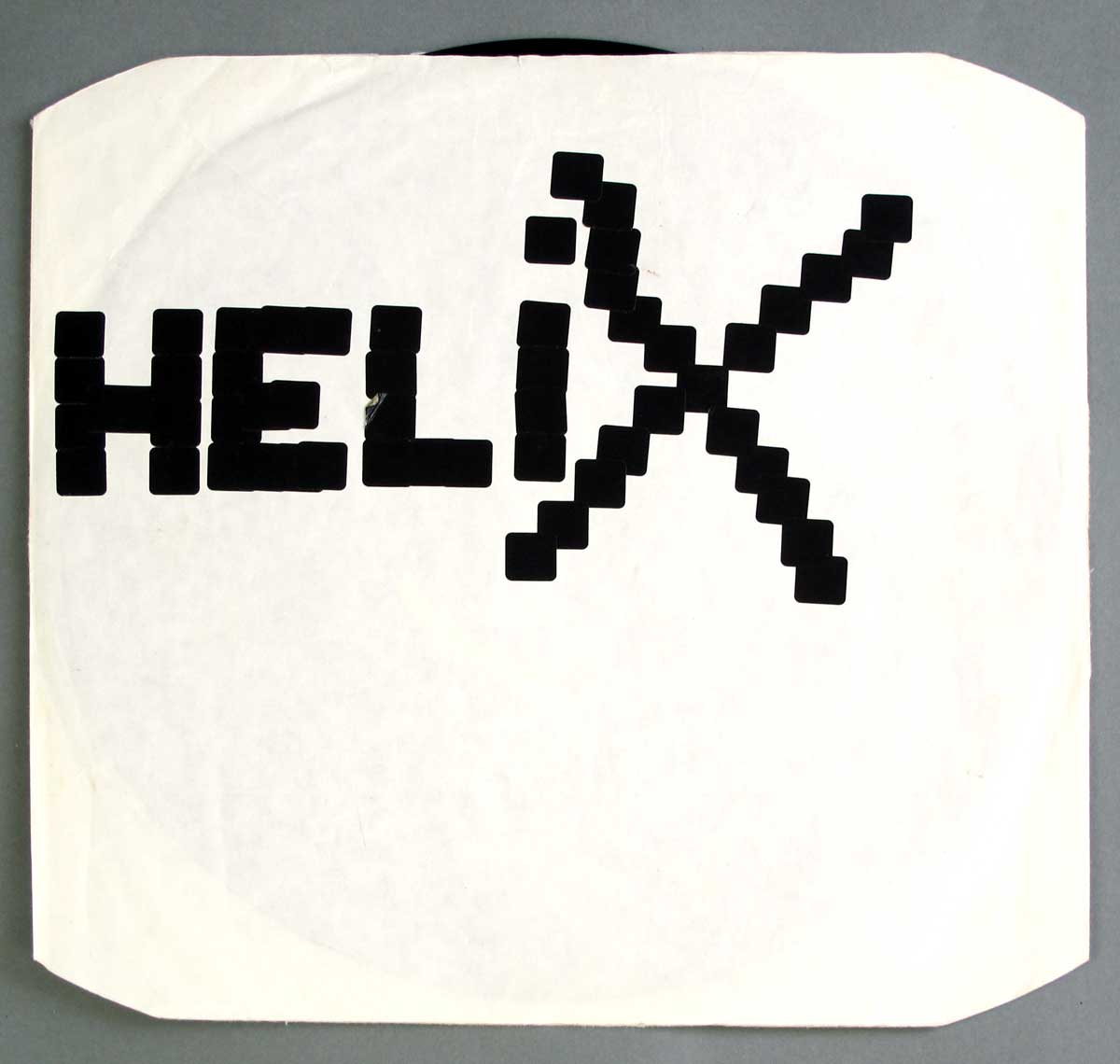 "Inner Sleeve   of ""HELIX - No Rest For the Wicked"" Album"