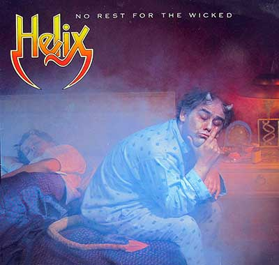 "Thumbnail Of  HELIX - No Rest For The Wicked 12"" Vinyl LP album front cover"