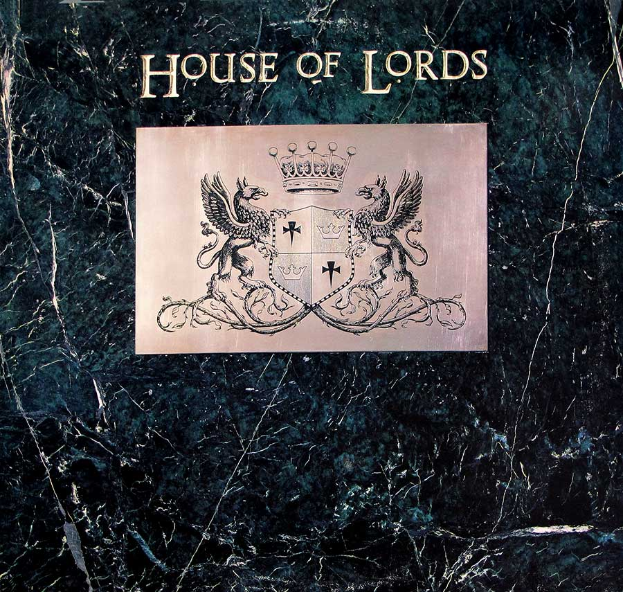"Front Cover Photo Of HOUSE OF LORDS - Self-Titled (Angel, Giuffria) 12"" LP Vinyl Album"