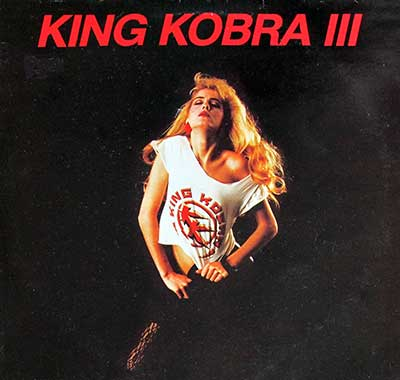 "Thumbnail of KING KOBRA III 12"" LP album front cover"