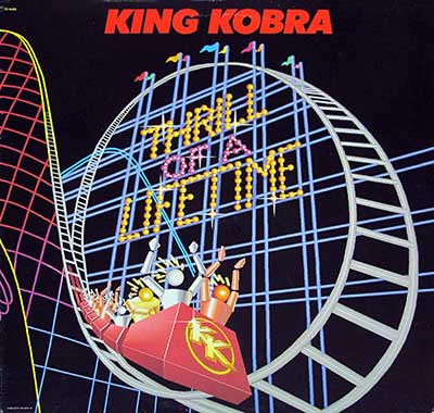 Thumbnail of KING KOBRA - Thrill Of A Lifetime ( Canada ) album front cover