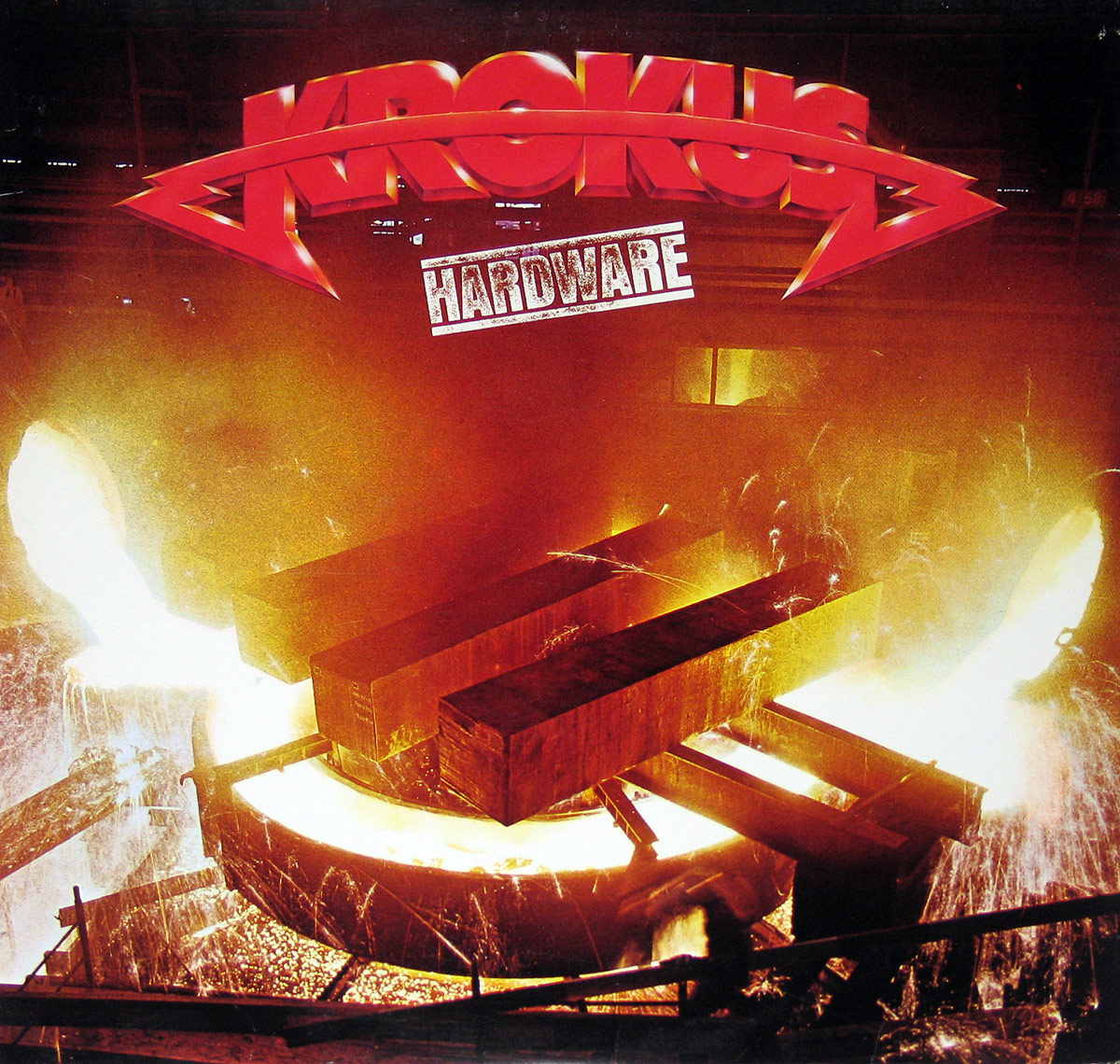 Album Front Cover Photo of KROKUS - Hardware Ariola Canada