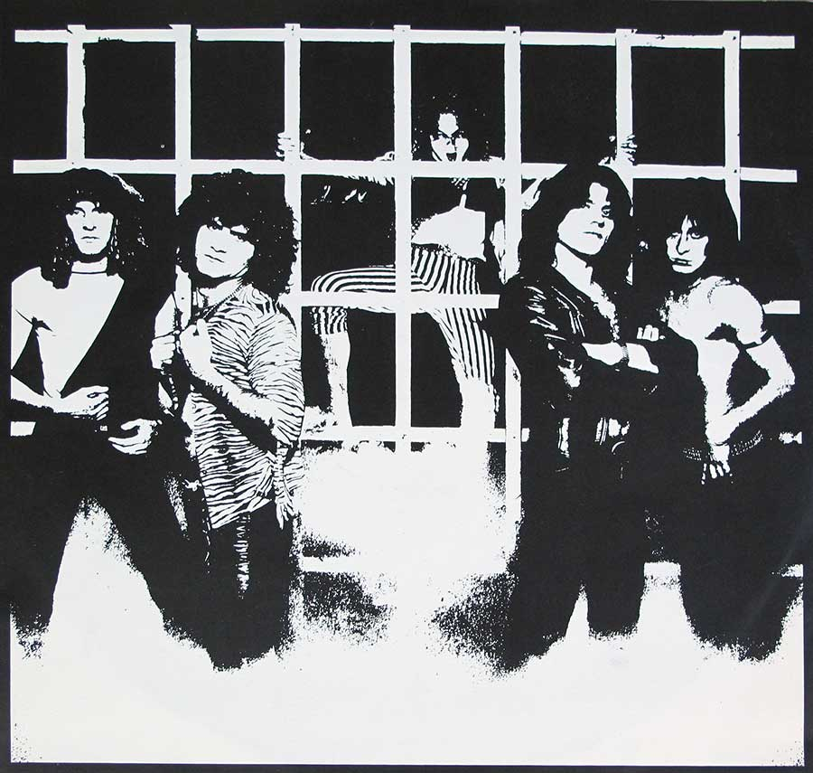 Full page photo of the Krokus band