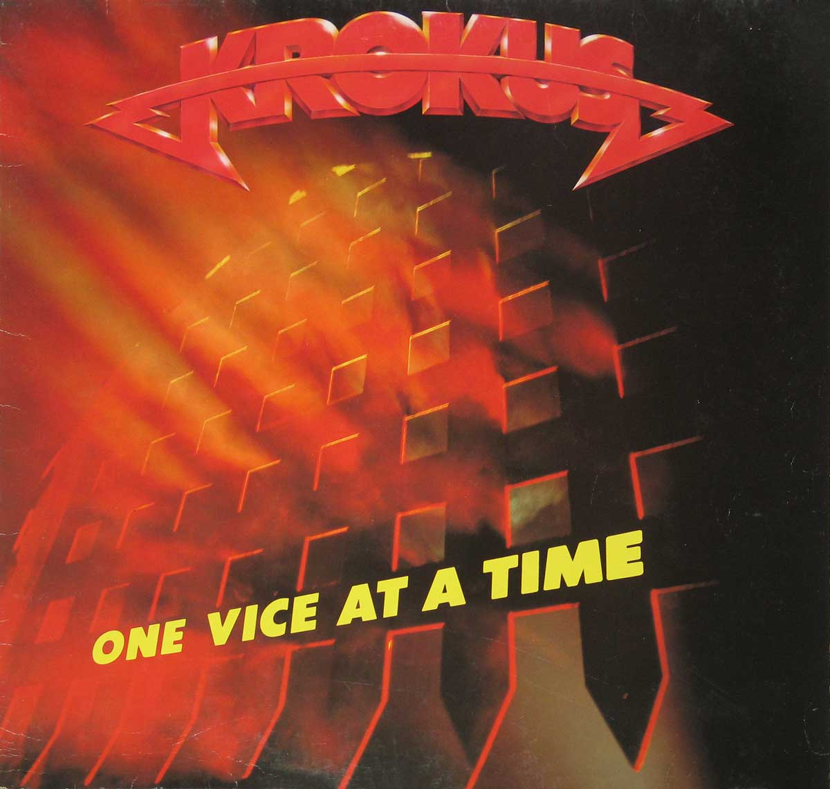 "Photo of ""One Vice at a Time"" Album's Front Cover"