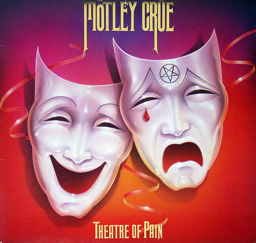 "MOTLEY CRUE - Theatre Of Pain Canadian Release 12"" VINYL LP ALBUM  front cover https://vinyl-records.nl"