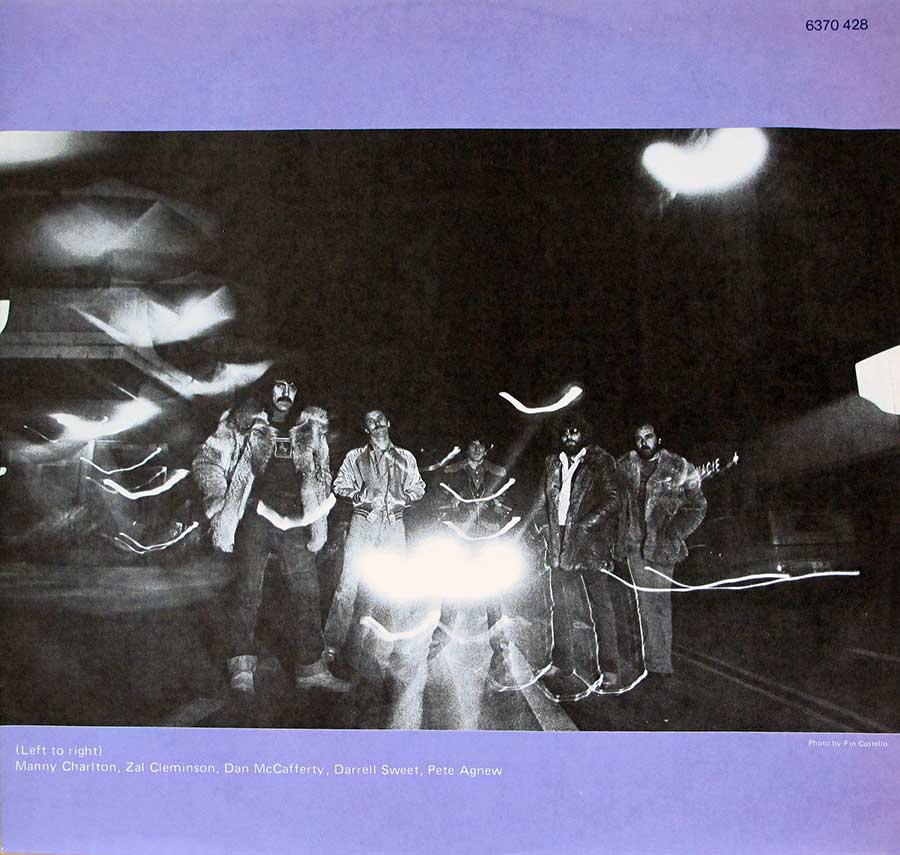 Photo One Of The Original Custom Inner Sleeve NAZARETH - No Mean City