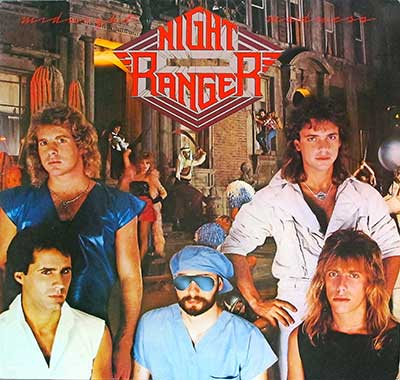NIGHT RANGER - Midnight Madness ( Germany )