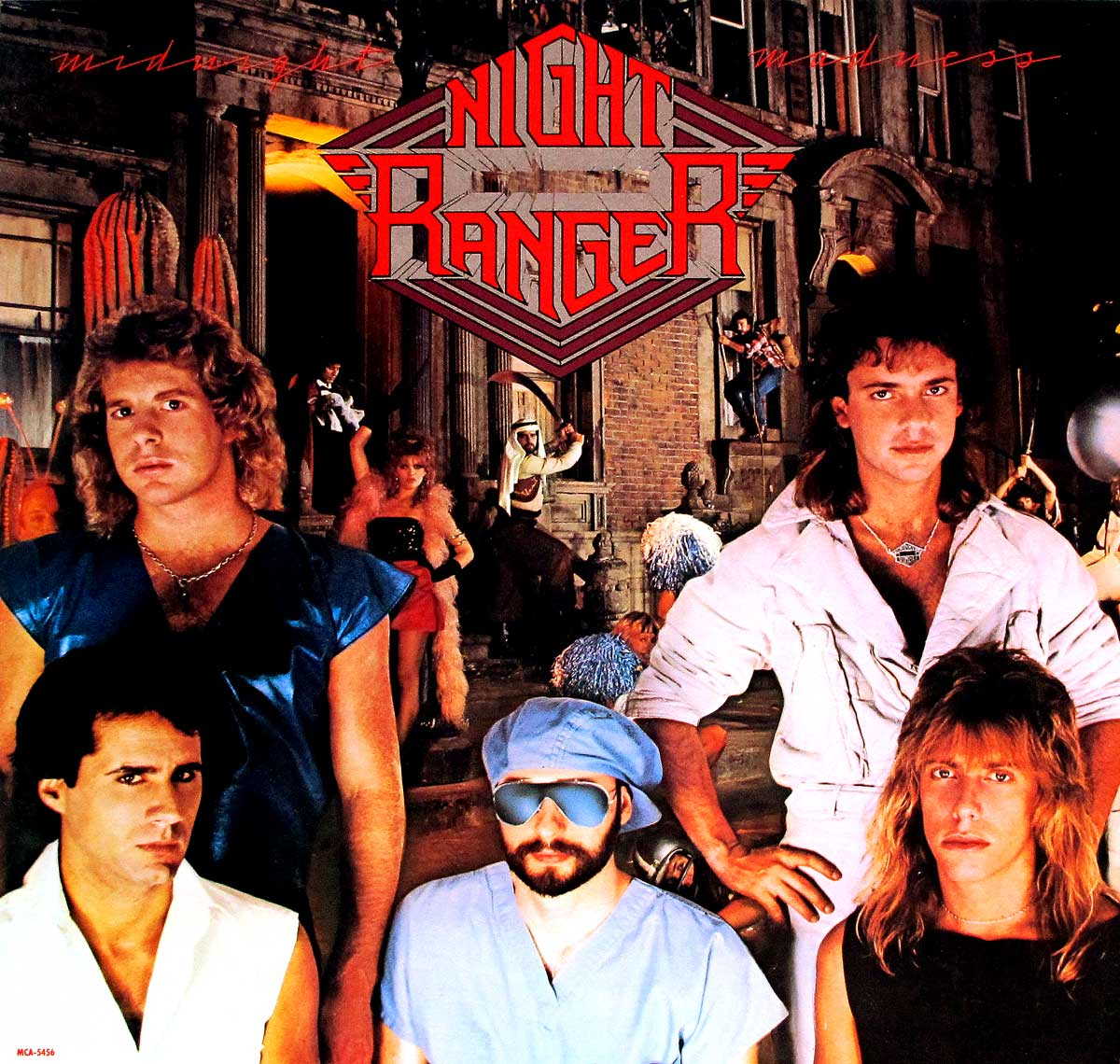 Album Front cover Photo of NIGHT RANGER MIDNIGHT MADNESS ORIG USA https://vinyl-records.nl/