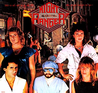 NIGHT RANGER MIDNIGHT MADNESS ORIG USA thumbnail of the album cover