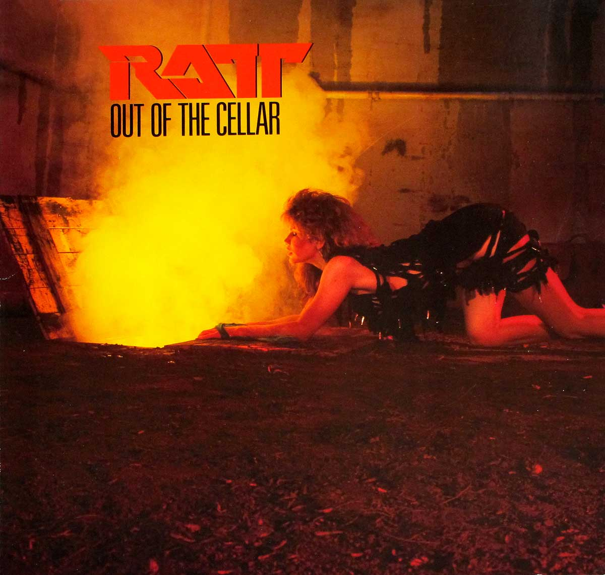 Album Front Cover Photo of RATT - Out Of The Cellar