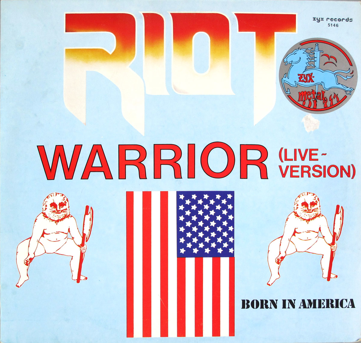 High Resolution Photo #1 RIOT Warrior Live