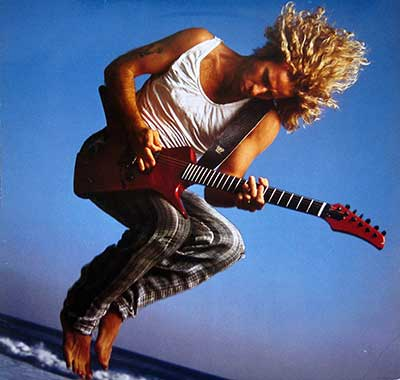 "Thumbnail Of  SAMMY HAGAR - Self-Titled ( Not I Never Said Goodbye ) 12"" LP album front cover"