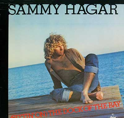 "Thumbnail Of  SAMMY HAGAR - Sittin on the Dock of the Bay  12"" Maxi-Single front cover"