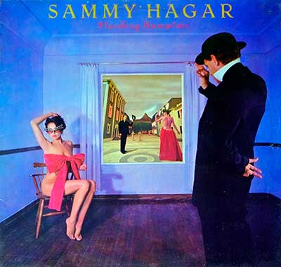 "Thumbnail Of  SAMMY HAGAR - Standing Hampton ( Holland ) 12"" LP album front cover"
