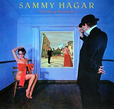 "Thumbnail Of  SAMMY HAGAR - Standing Hampton ( USA ) 12"" LP album front cover"