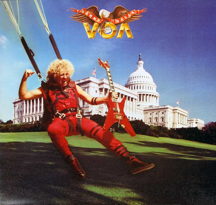 "High Quality Photo of Album Front Cover  ""SAMMY HAGAR - VOA"""