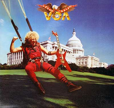"Thumbnail Of  SAMMY HAGAR - VOA 12"" LP album front cover"
