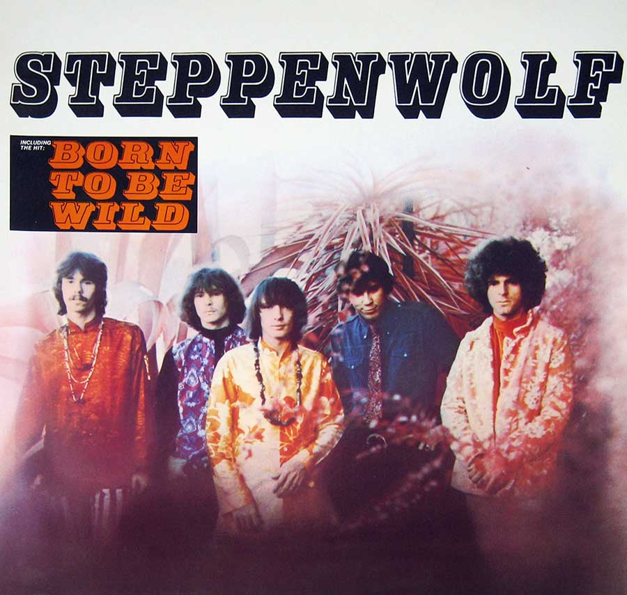 "STEPPENWOLF - S/T Self-titled 12"" Vinyl LP Album front cover https://vinyl-records.nl"