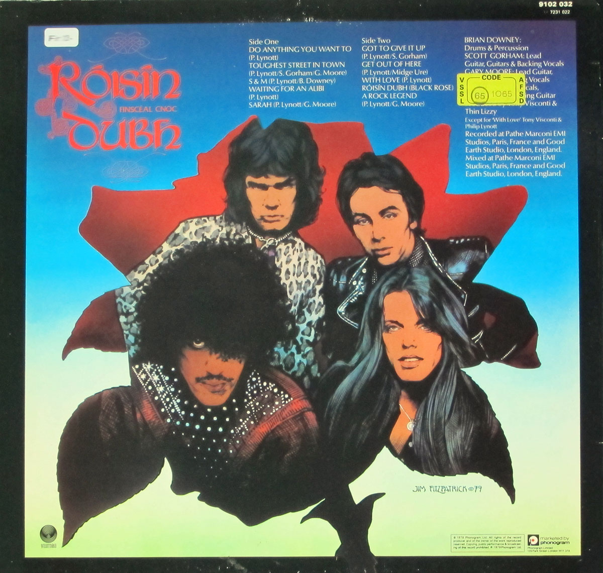 High Resolution Photo #2 THIN LIZZY Black Rose Rock Legend