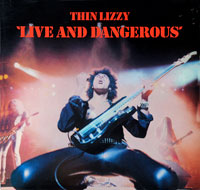 THIN LIZZY - Live and Dangerous 2LP